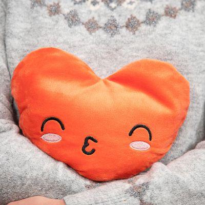 Hochzeitstag Geschenk - Erwärmbares Kissen in Herz-Form