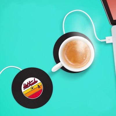 Spaß im Büro - USB Tassenwärmer Schallplatte