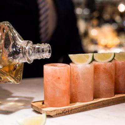 Tassen & Gläser - Shotgläser aus Himalaya-Salz