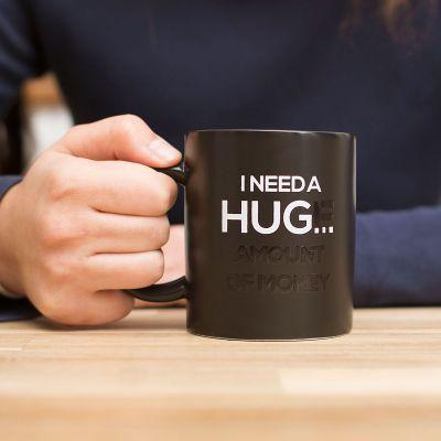 Tassen & Gläser - Wärmeempfindliche Tasse I Need A Hug