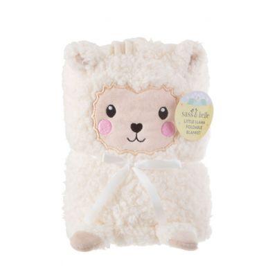 Geschenke zur Geburt - Lama Baby Kuscheldecke