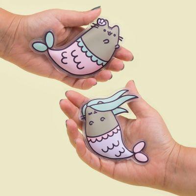 Weihnachtsgeschenke für Freundin - Pusheen Meerjungfrau Handwärmer Set