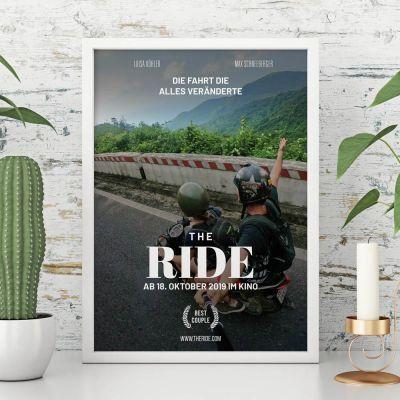 Weihnachtsgeschenke für Männer - Personalisierbares Poster im Kinoplakat-Stil