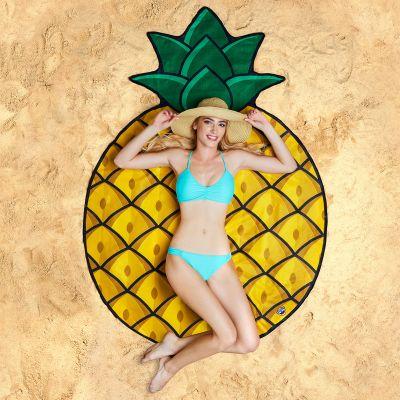 Draußen - Ananas Strandtuch