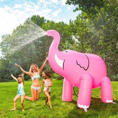 Spiel & Spass - Rosa Elefant Riesen-Sprinkler