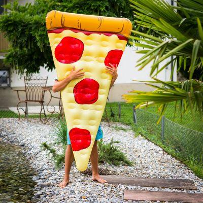 Draußen - Pizza Luftmatratze