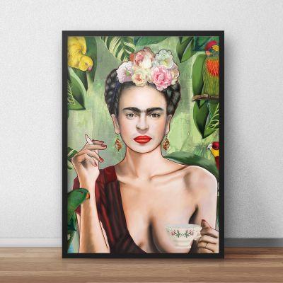 Nikolausgeschenke - Poster Frida by Nettsch