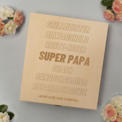 Muttertagsgeschenke - Personalisierbare Pralinenbox mit Text