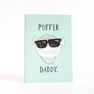 Karten - Grußkarte Puffer Daddy
