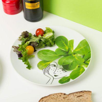 Küche & Grill - Kleine Salatteller-Garnitur 6er Set