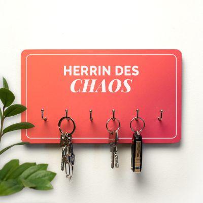 Deko - Personalisierbares Schlüsselbrett mit 2 Zeilen
