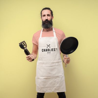 Küche & Grill - Personalisierbare Küchenschürze Master Chef
