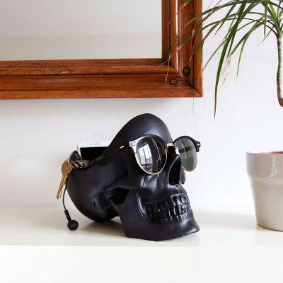 Deko - Totenschädel Aufbewahrungsbox