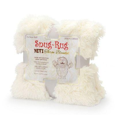 Weihnachtsgeschenke für Freundin - Yeti Überwurf-Decke