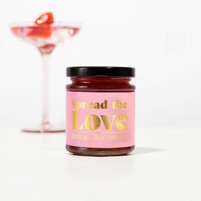 Süßigkeiten - Pink Gin Marmelade
