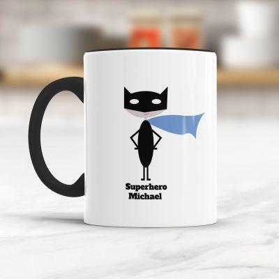 Personalisierte Tassen - Superheld/in - Personalisierbare Tasse