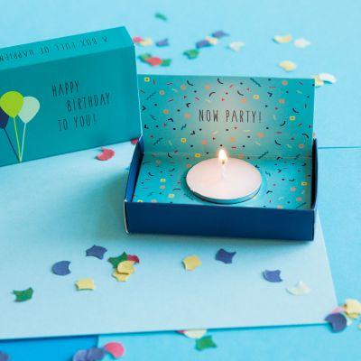 Geburtstagsgeschenke - Überraschungs-Geburtstags-Box