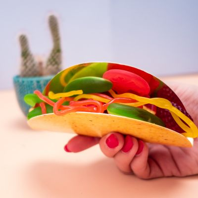 Süßigkeiten - Fruchtgummi Taco