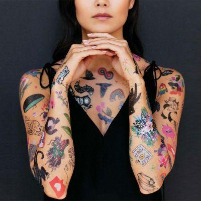 Kleidung & Accessoires - Temporäre Tattoos in verschiedenen Variationen