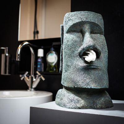 Geschenke für Eltern - Moai Taschentuchhalter