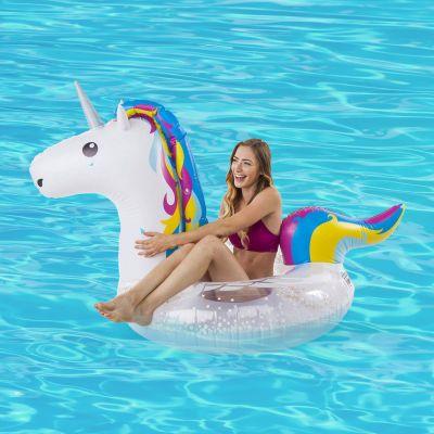 Sommer - Einhorn Riesen Schwimmreifen