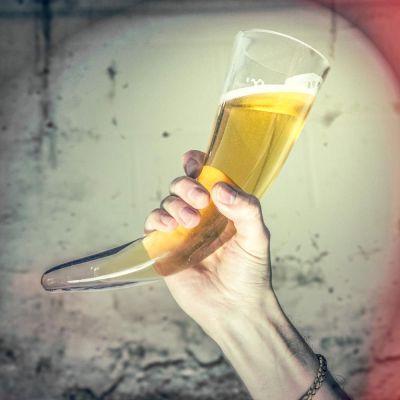Tassen & Gläser - Wikinger Trinkhorn Glas