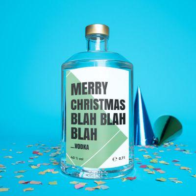 Geburtstagsgeschenke für Männer - Personalisierbarer Wodka mit Text