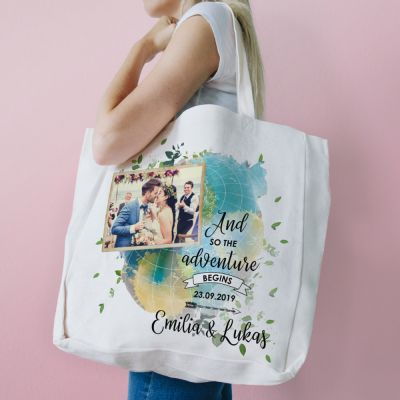 Exklusiv bei uns - Personalisierbare Tasche zur Hochzeit