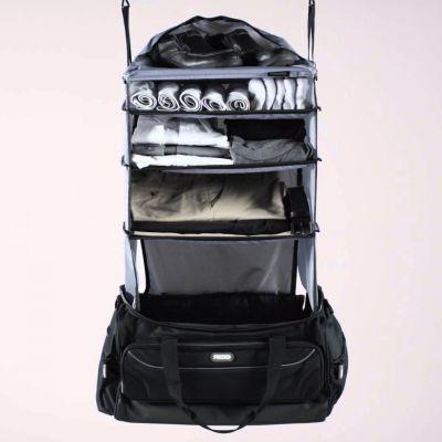 Weihnachtsgeschenke für Frauen - Weekender Reisetasche mit integrierter Garderobe