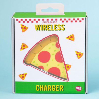 Handy Gadgets - Drahtloses Ladegerät Pizzastück