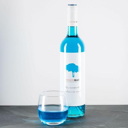 Geburtstagsgeschenke - Chardonnay in Blau