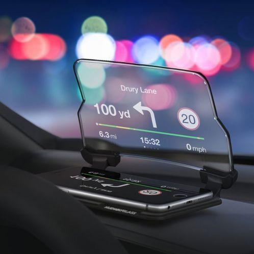Geschenkideen - Hudway Head Up Display für Smartphones