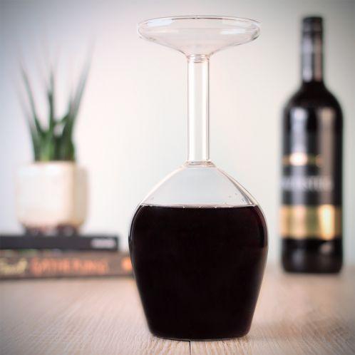 Geburtstagsgeschenke - Das verkehrte Weinglas