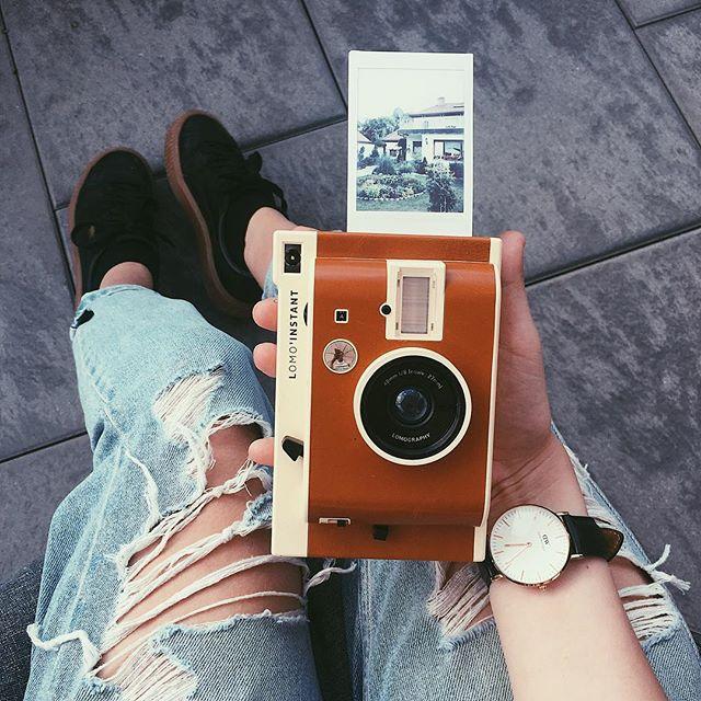 LOMO Instant Kamera - Weiß