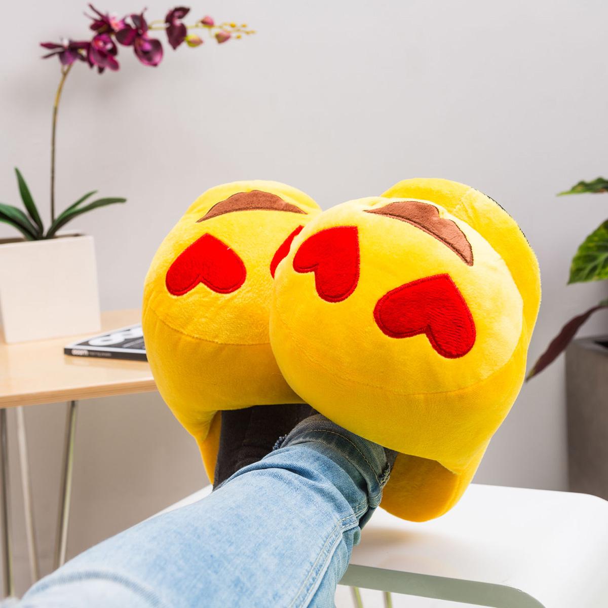 Emoji Hausschuhe Sonnenbrille
