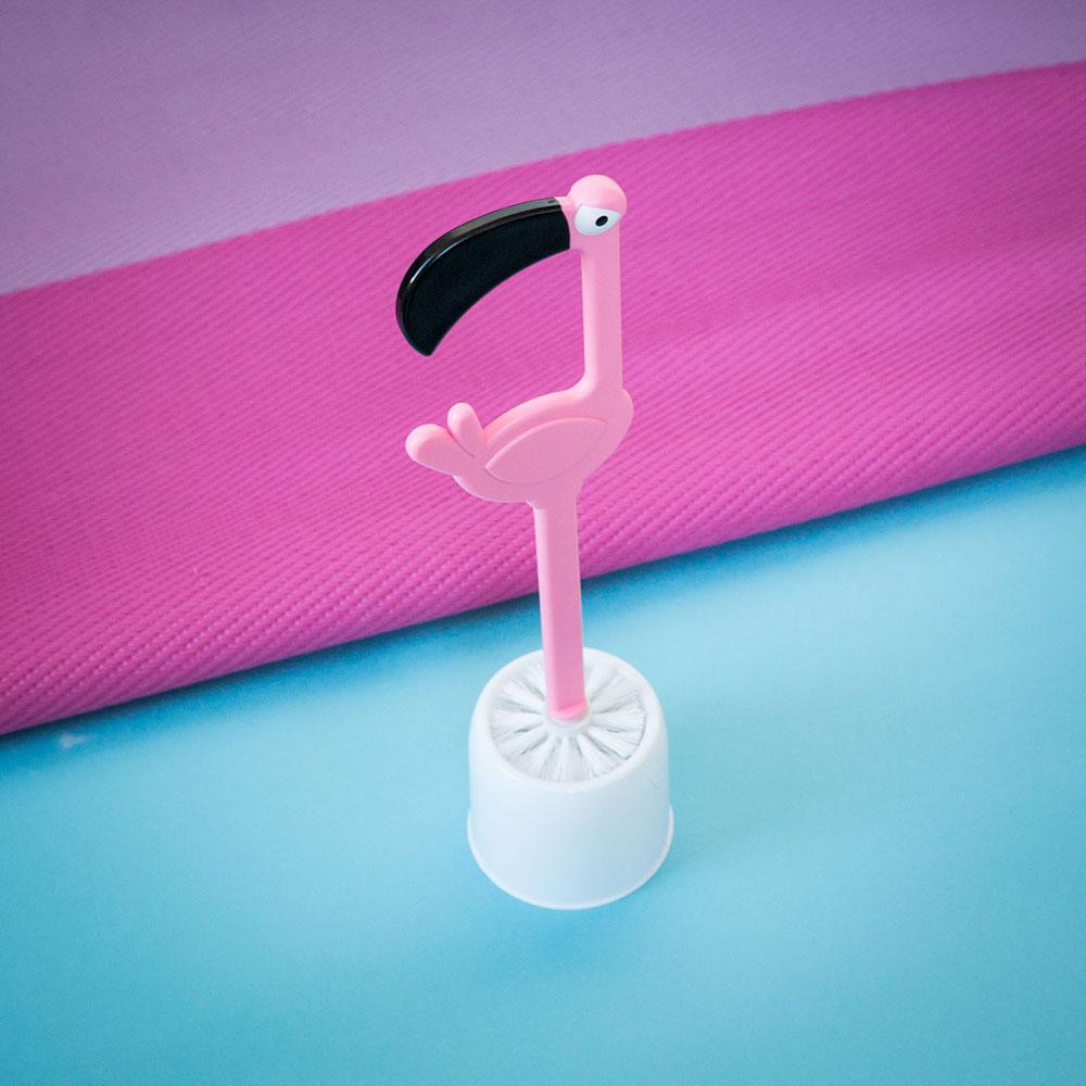 WC Bürste Flamingo