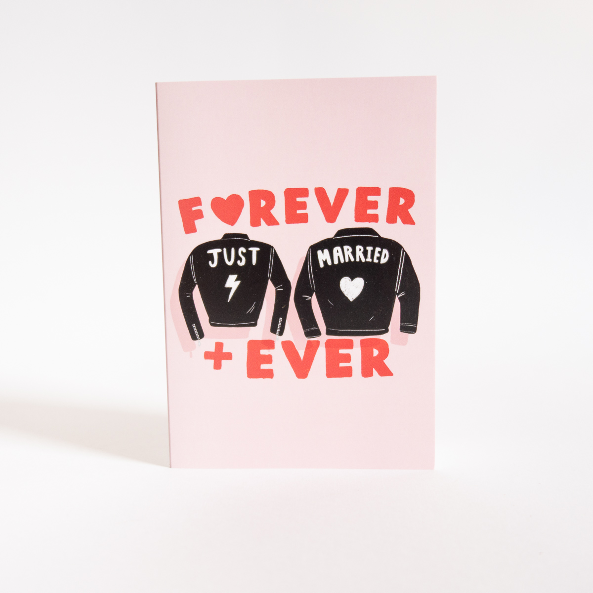 Hochzeitskarte Forever + Ever