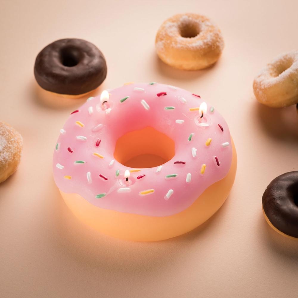Riesen Donut Kerze