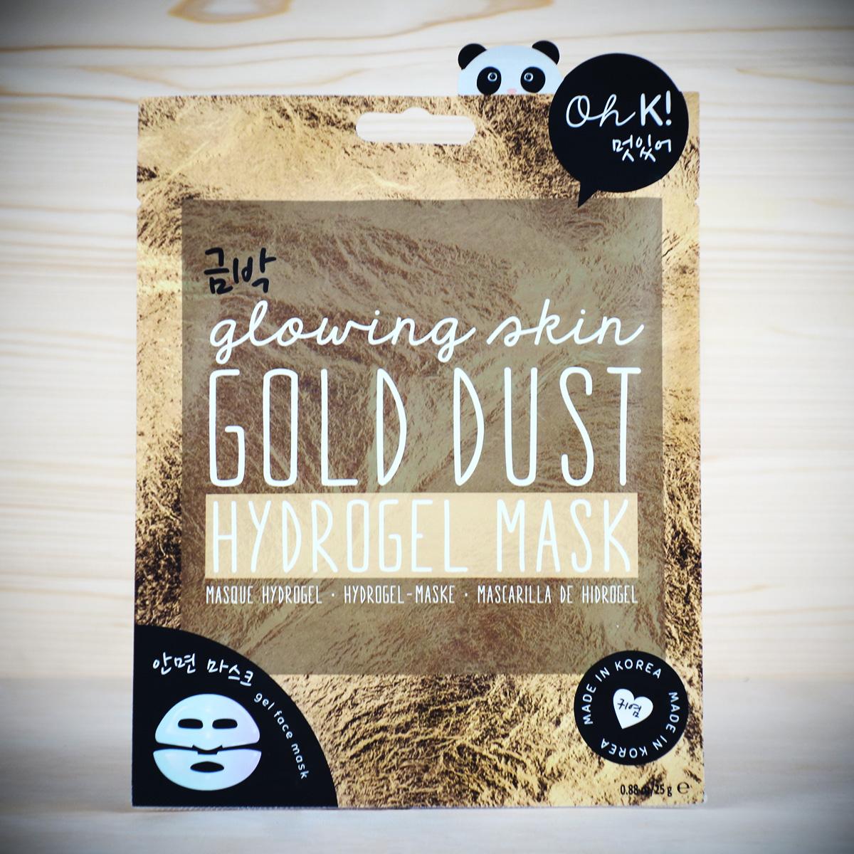 Goldstaub Gesichtsmaske