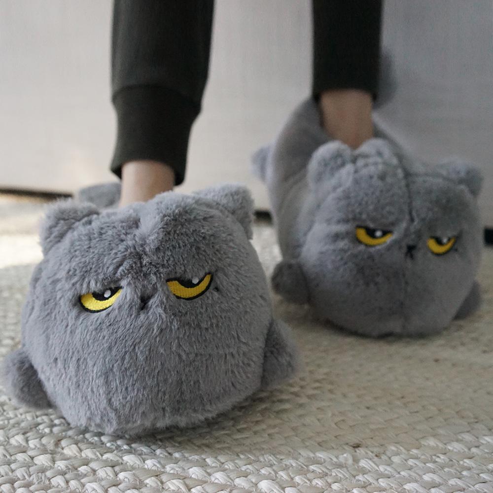 Beheizbare Katzen Hausschuhe