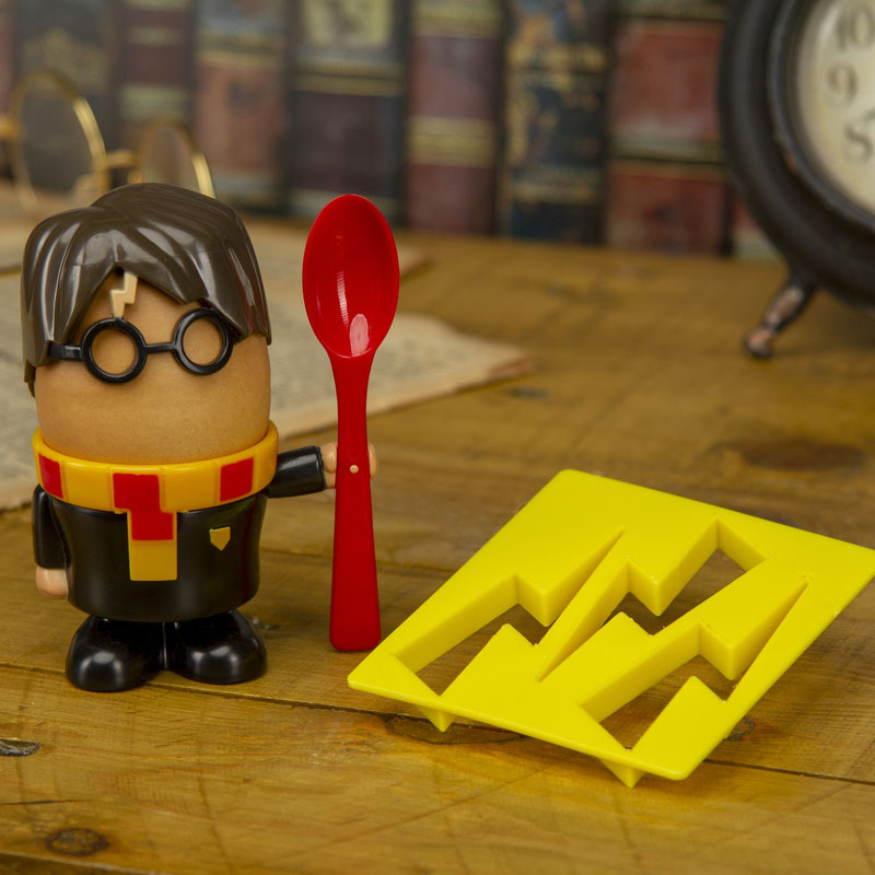 Harry Potter Eierbecher und Toast Schablone
