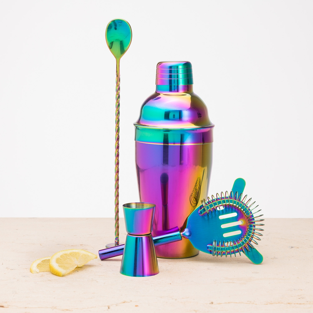 Irisierendes Cocktail Set