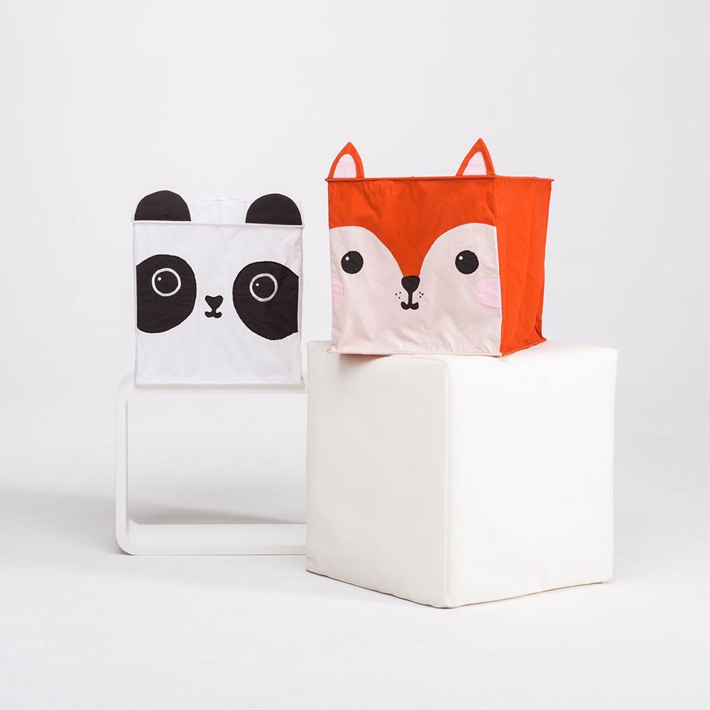 Fuchs und Panda Lampenschirm - Fuchs