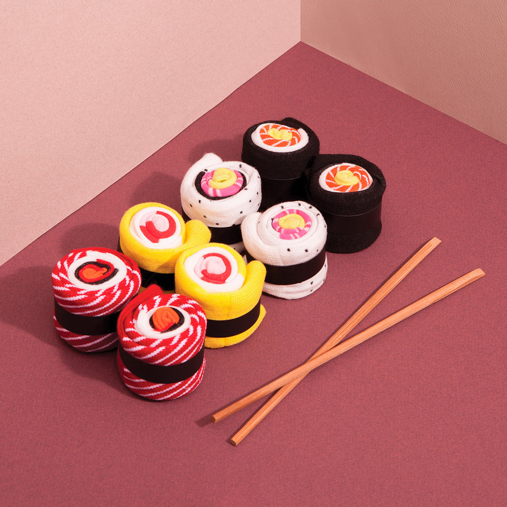 Sushi Socken Californian Roll