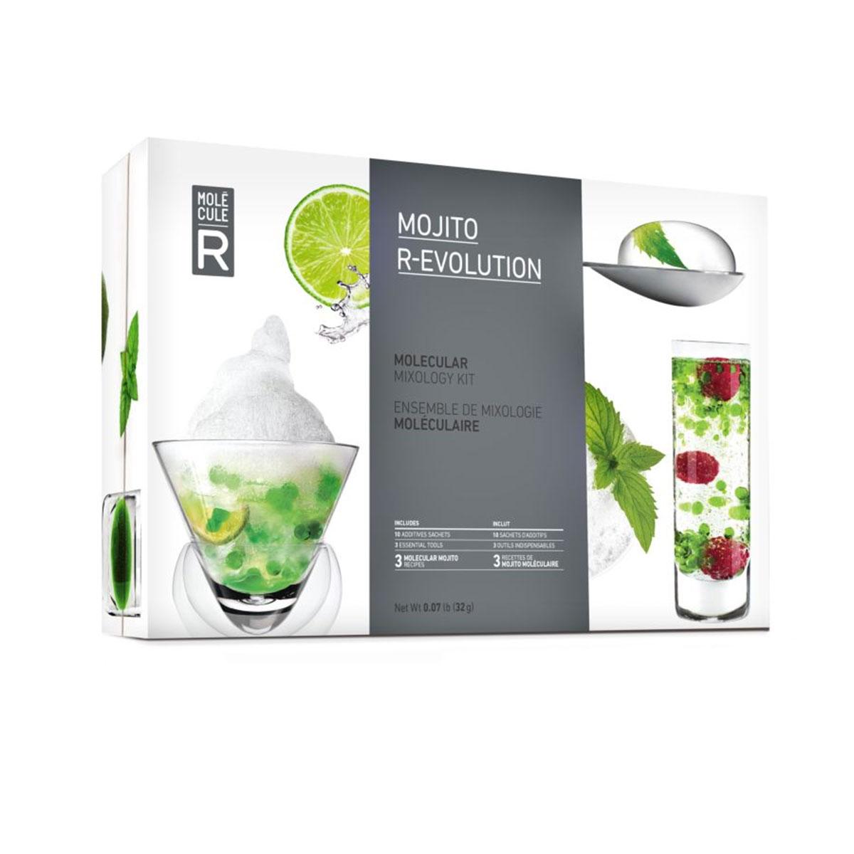Molekulares Mojito Cocktail Set