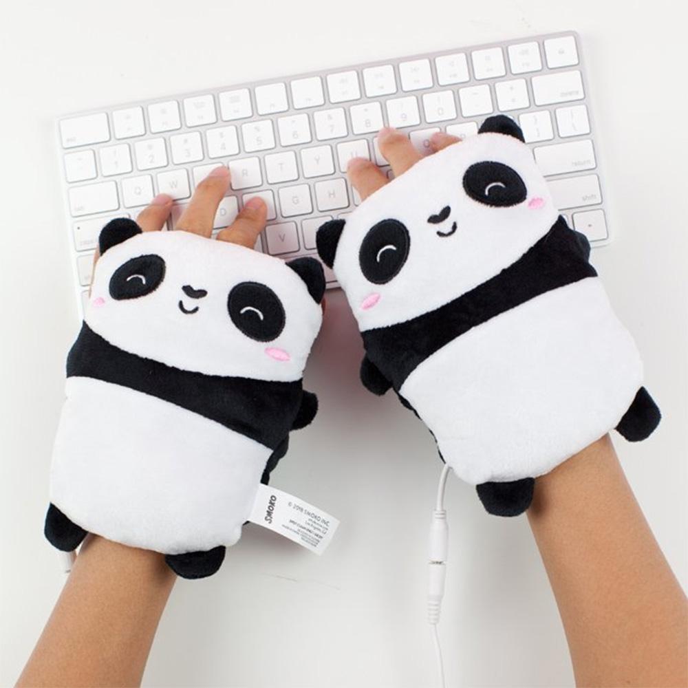 Beheizbare Handwärmer Panda