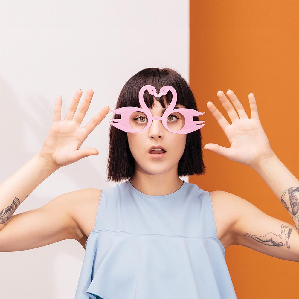 Witzig trendige Party-Brillen