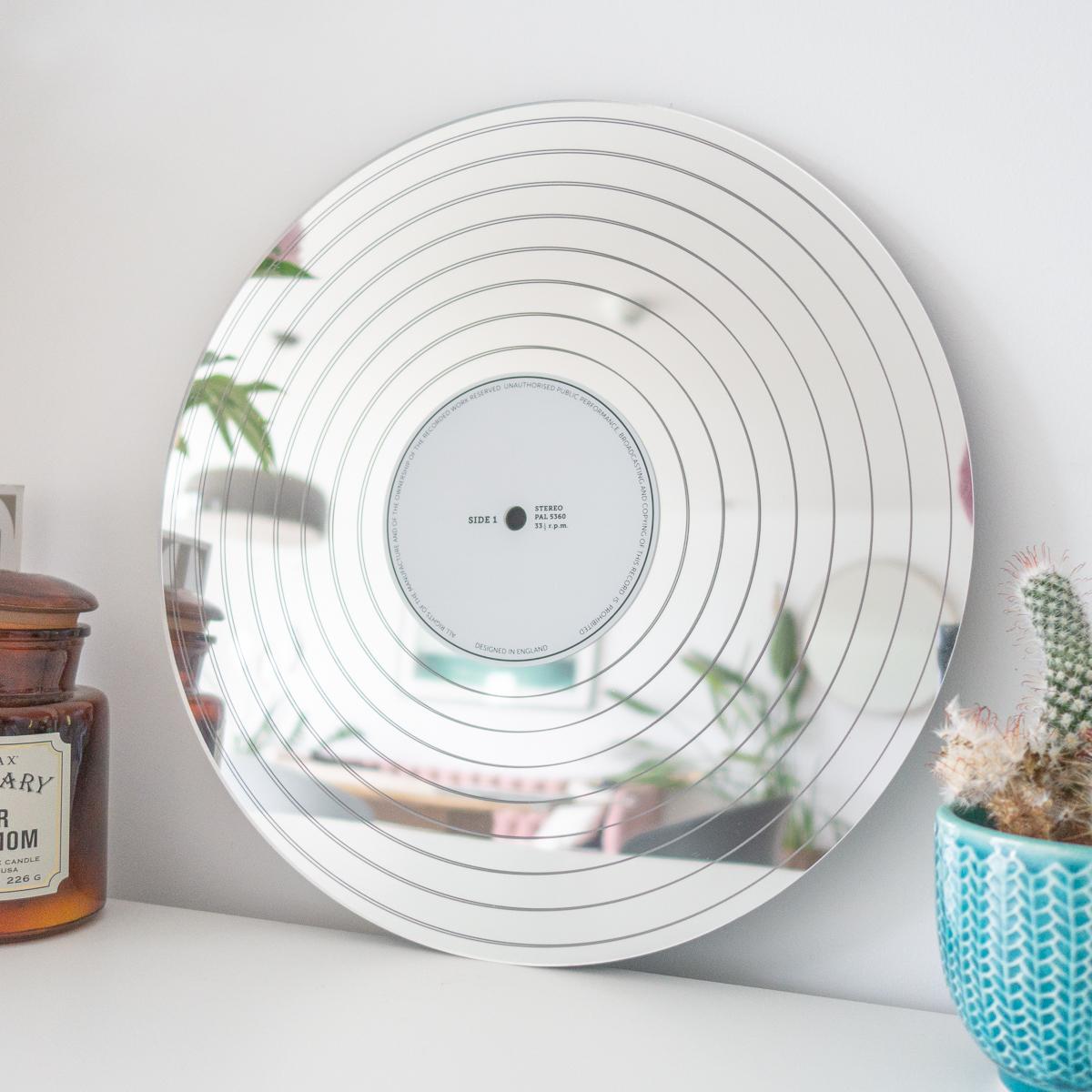 Platin Schallplatten Spiegel