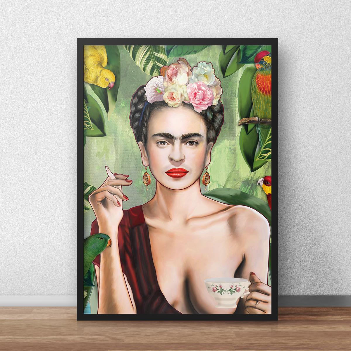 Poster Frida by Nettsch