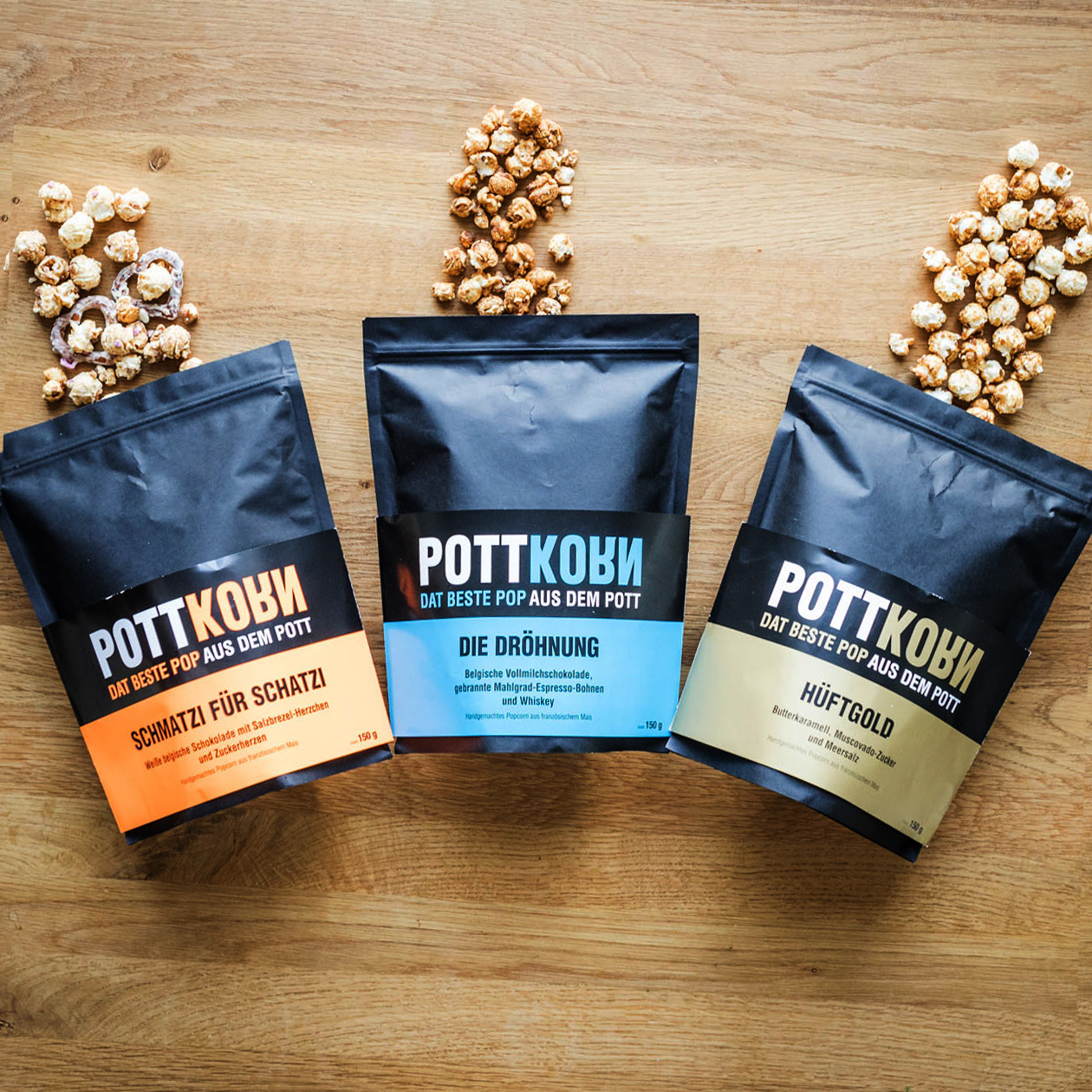 Pottkorn - Spezial Popcorn - Schmatzi für Schat...